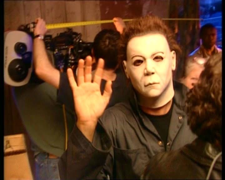 Halloween Resurrection Rick Rosenthal Jamie Lee Curtis 2002 Making of (9)